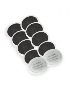 STEALTH/3/5 - Trend Air Stealth respiratory mask replacement set of charcoal filters pack of 5