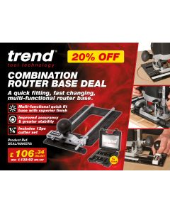 DEAL/MAKERS - Combination Router Base and Cutter Set Deal