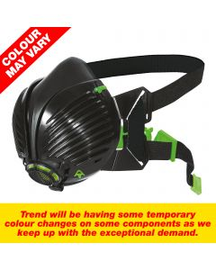 STEALTH/ML - Stealth respirator mask. Medium/Large size half mask with twin P3 rated filters.