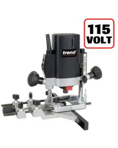 "T5ELB - 1000W 1/4"" Variable Speed Router 115V - UK sale only"