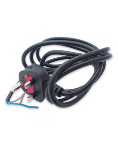 WP-T4L/021 - 2 core cable with plug 115V UK T4