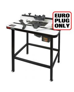 WRT/EURO - Workshop router table 230V Euro plug - Authorised distributors only